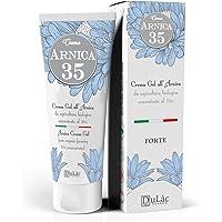 Dulàc Arnica Gel Kräm, 75 ml, DEN MEST KONCENTRERADE, med Arnica Montana från biologiskt jordbruk, 100% Made in Italy…