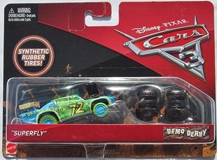 Amazon Com Disney Pixar Cars 3 Demo Derby Bill With Synthetic Tires