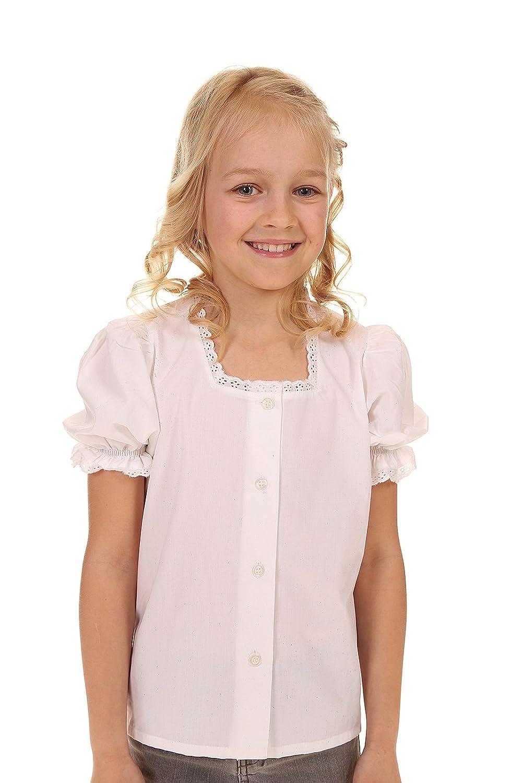 Isar-Trachten Kinder Bluse & Shirt 44940 Weiß Ederer