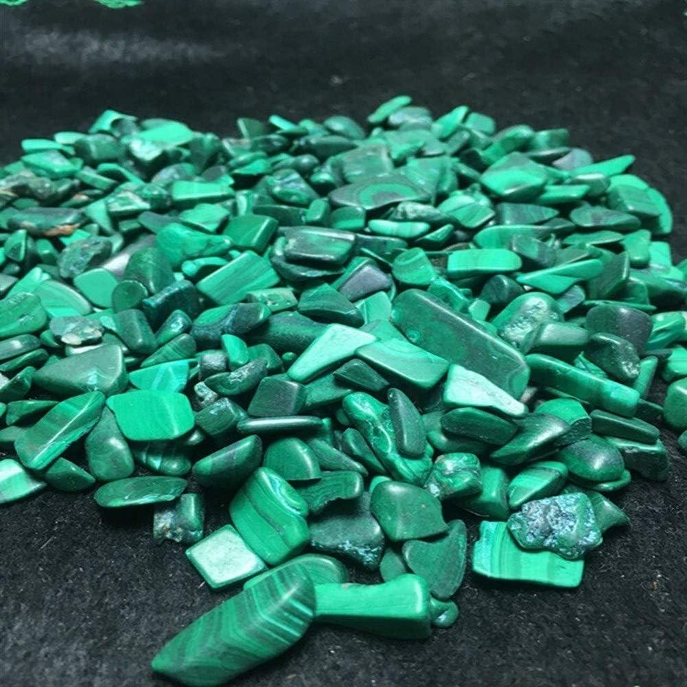 Pierre semi 100g de pierres de cristal de malachite rares et naturelles porte bonheur brute lithoth/érapie
