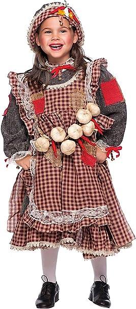 VENEZIANO Disfraz LOCANDIERA Vestido Fiesta de Carnaval Fancy ...