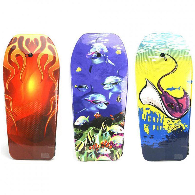 Kinder Schwimmbrett Motiv Varianten Bodyboard 104cm Schwimm Board Neu