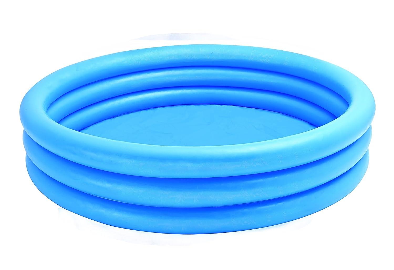 Intex 59416NP - Piscina hinchable 3 aros azul, 114 x 25 cm, 132 ...
