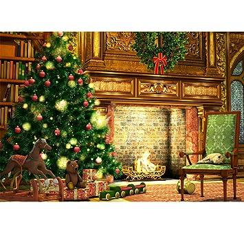 Amazon.com: Vacally Árbol de Navidad 5D DIY Pintura de ...