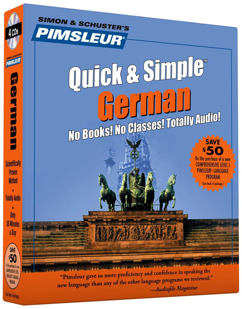 Pimsleur German Quick Simple Course product image