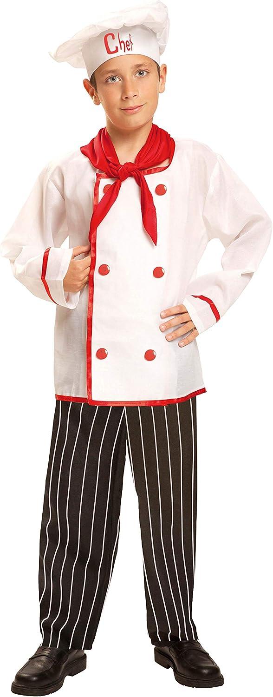 My Other Me Me-200959 Disfraz de cocinero para niño, 10-12 años (Viving Costumes 200959)