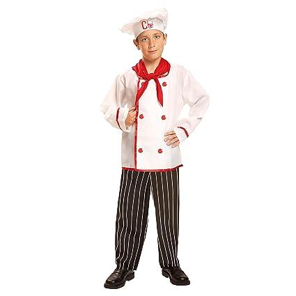 My Other Me Me-200956 Disfraz de cocinero para niño, 3-4 años (Viving Costumes 200956