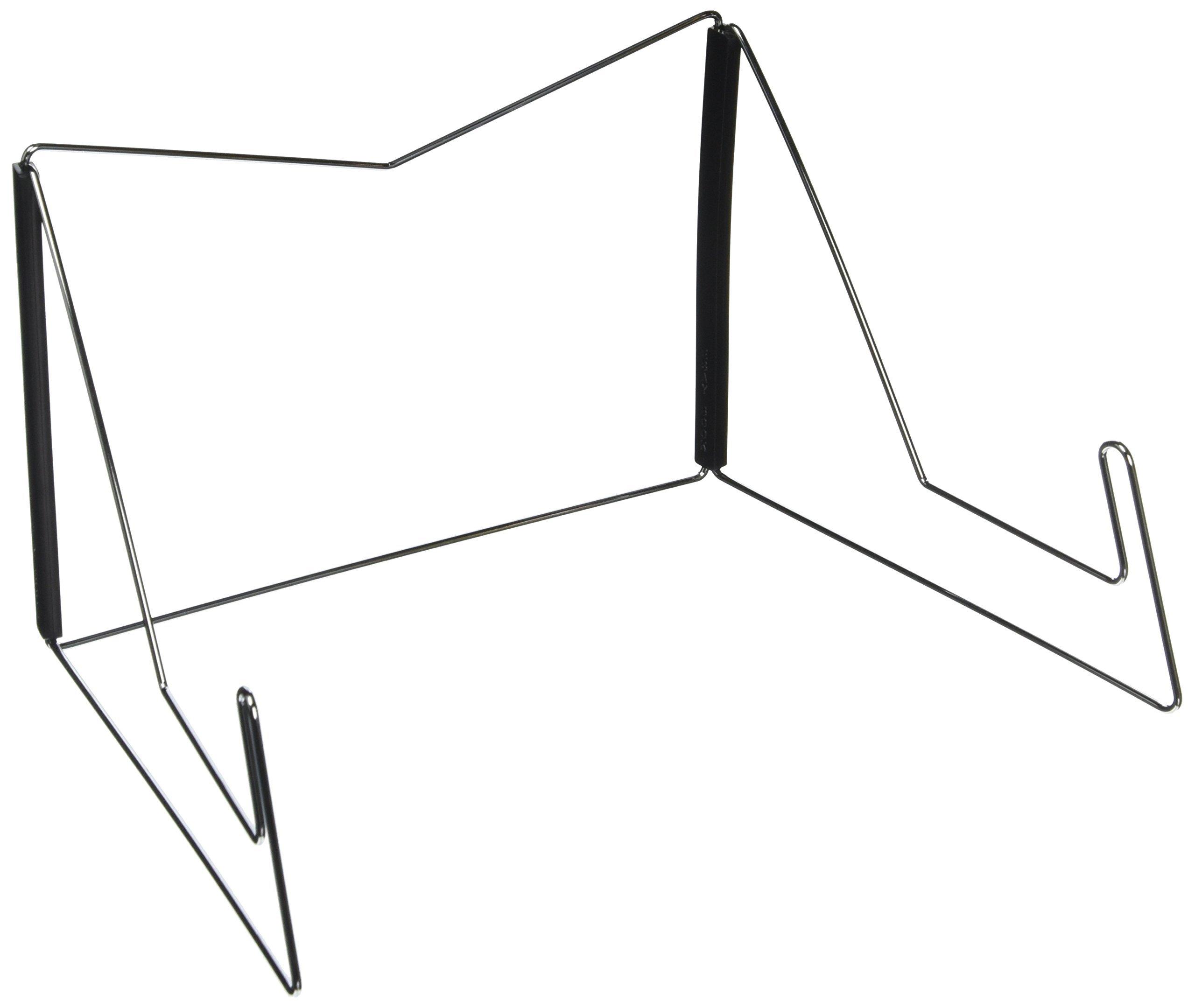 OliaDesign Fold-n-Stow Book Stand, Black