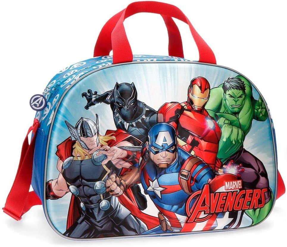Bolsa de viaje Los Vengadores Team Frontal 3D