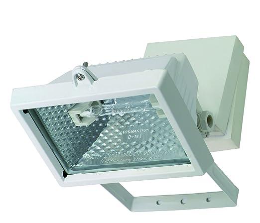 Profile 42000136 Carre Proyector halógeno Metal, metal, blanco ...