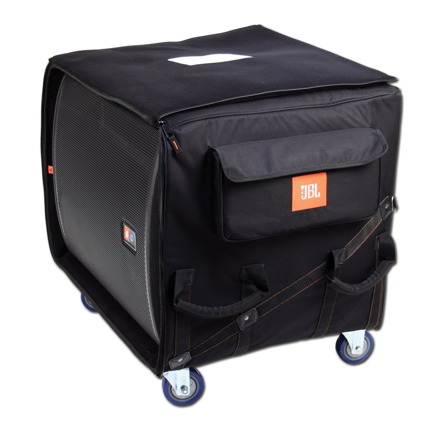 JBL Rolling Sub Transporter Bag for JBL 18-Inch Sub Speaker - Black (JBL-SUB-18T)