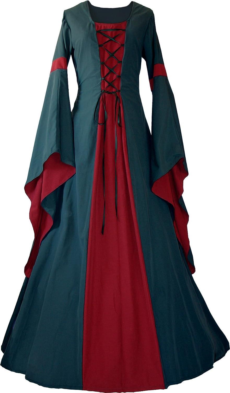 Dornbluth Ladies Medieval Dress Johanna Ivy: Amazon.co.uk: Clothing