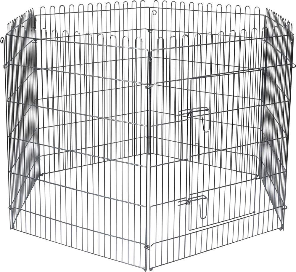 FLAMINGO High Cage pour Chiot 160 cm diamètre 80 cm 507806