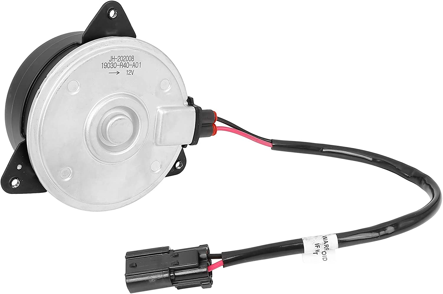 X AUTOHAUX 19030-R40-A01 Replacement Radiator Cooling Fan Motor for Honda Pilot 2009-2015