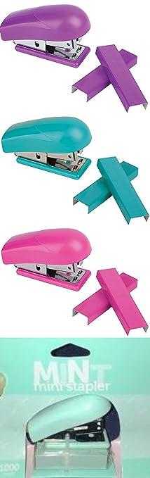 Office Depot Brand Mini Stapler Plus Pack  1 Pink  1 Aqua  1 PurpleAmazon com   Office Depot Brand Mini Stapler Plus Pack  1 Pink  1  . Office Depot Purple Chair. Home Design Ideas