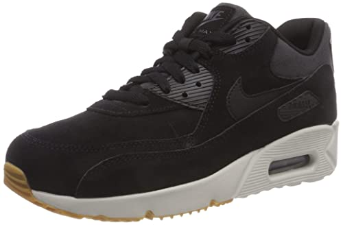 finest selection 7393e 19687 Nike Men s Air Max 90 Ultra 2.0 LTR Gymnastics Shoes Black Lt Bone Gum