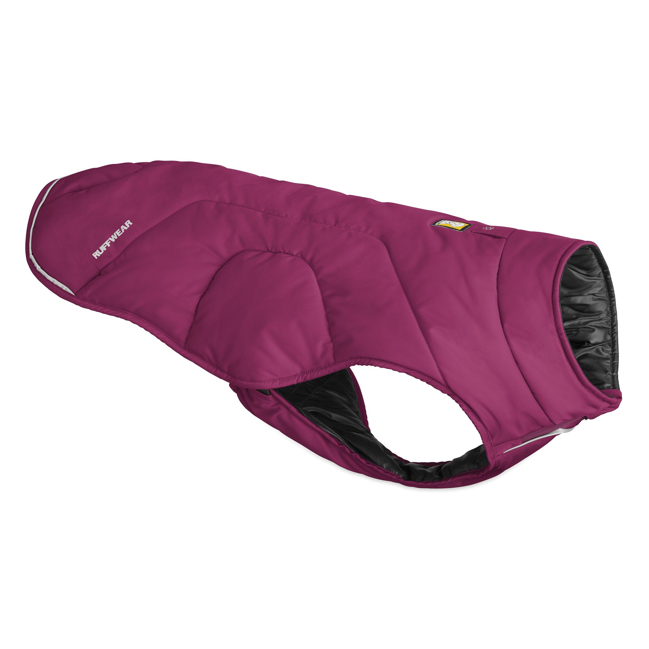 Ruffwear - Quinzee Warm, Lightweight Insulated Jacket for Dogs, Larkspur Purple, Small