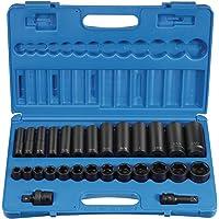 """Grey Pneumatic (1328RD 1/2"""" Drive 28-Piece Standard/Deep Socket Set"""