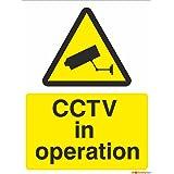 CCTV in Operation Sign 150mm x 200mm - Rigid Plastic