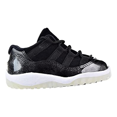 eae73eba07a Jordan Retro 11 Low Barons Black/White-Metallic Silver (Toddler) (8