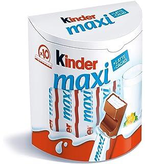 Kinder Maxi Snack de Chocolate - 10 Unidades