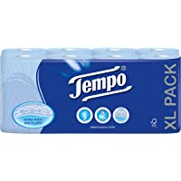 Tempo Toilet Tissue - 3 Ply (16 Rolls, Blue)