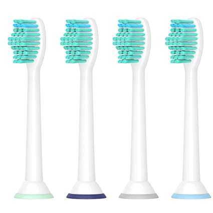 Para la cabeza del cepillo de dientes Sonicare de Philips, cabezas de cepillo de repuesto
