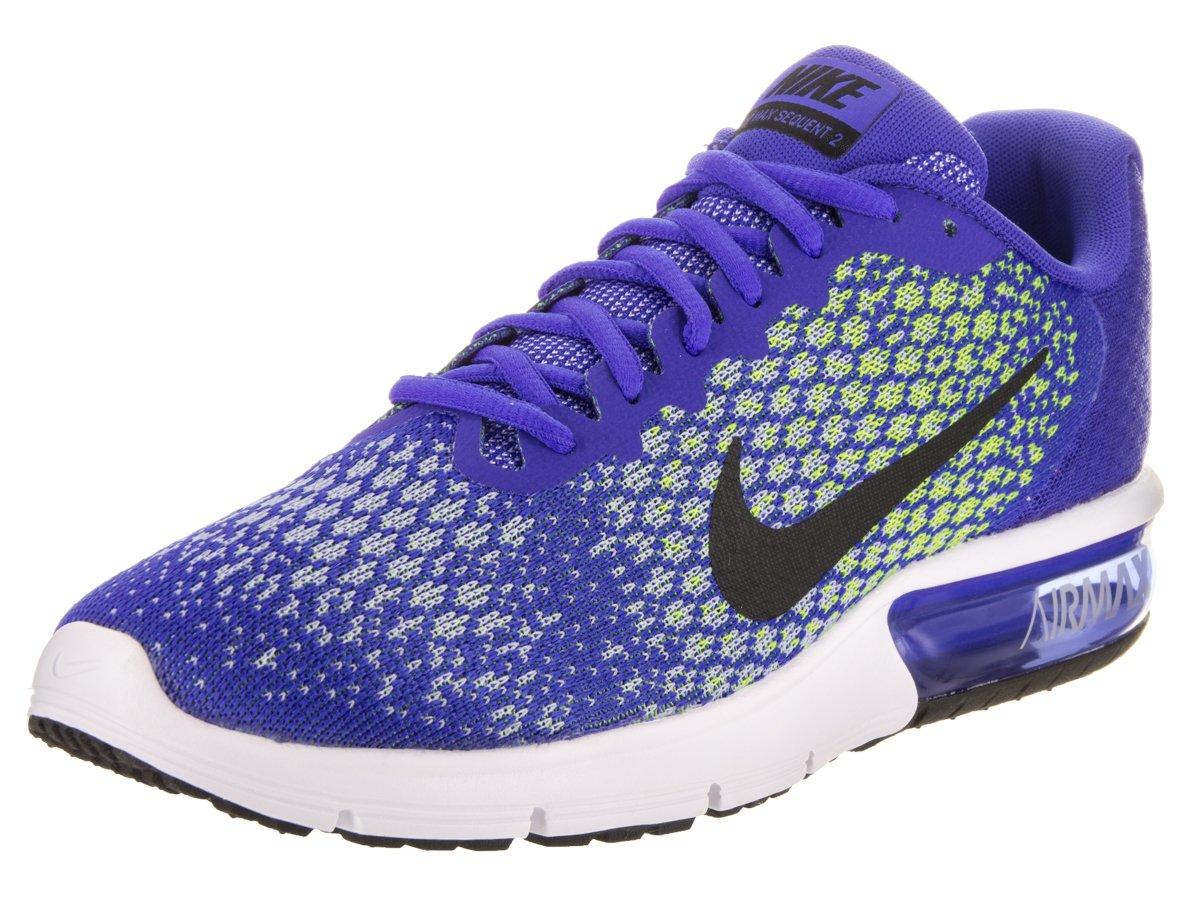 Nike Air Max Sequent 2 - paramount blue/black-volt-whit  10.5