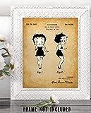 Betty Boop - 11x14 Unframed Patent Print - Makes