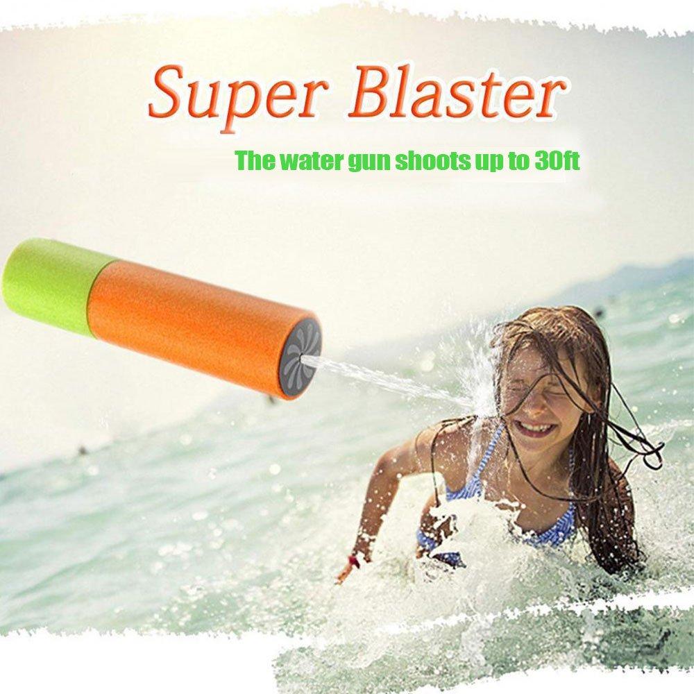 KSNOW Water Guns,6 Pack Mini Super Soaker Foam Water Blaster Gun Toys Swimming Pool Beach Garden 1 PC Fidget Toy Free by KSNOW (Image #5)