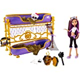 Monster High W2577 - Clawdeen e Letto Mostruoso