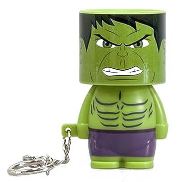Llavero Clip-On Look-Alite LED Marvel - Hulk: Amazon.es: Hogar