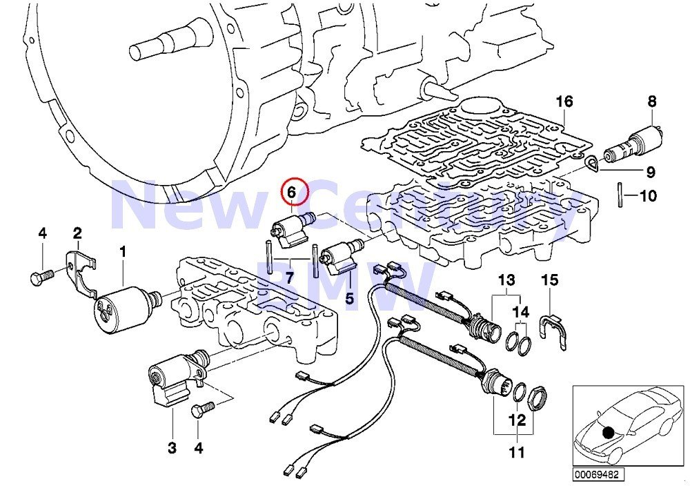 bmw z3 tail best place to find wiring and datasheet resources BMW Z3 Roadster amazon genuine bmw e34 e36 z3 at solenoid valve 1st 2nd 3th 4th gear oem 24337537063 automotive