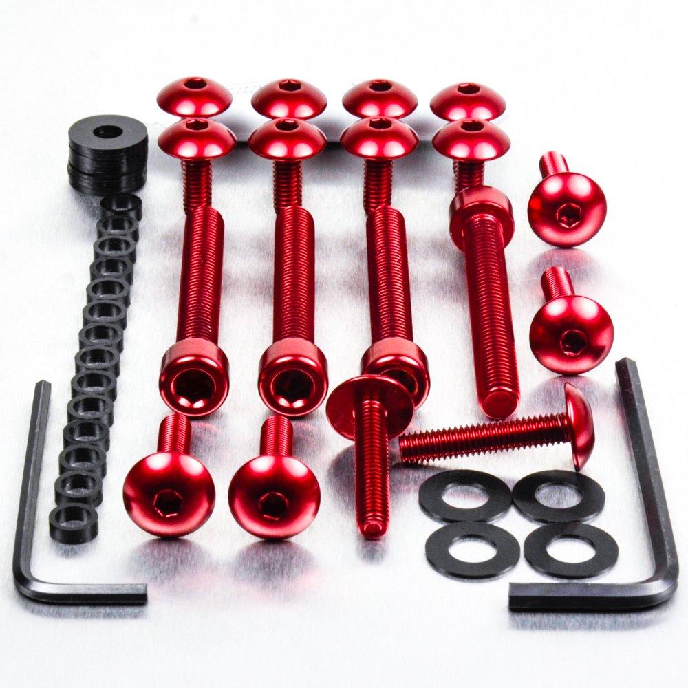 Aluminium Fairing Kit Kawasaki ER6-N Red