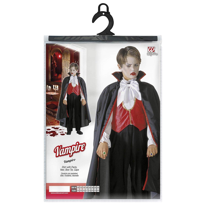 WIDMANN Video Delta Vampire Niño Traje de 128cm de los niños ...