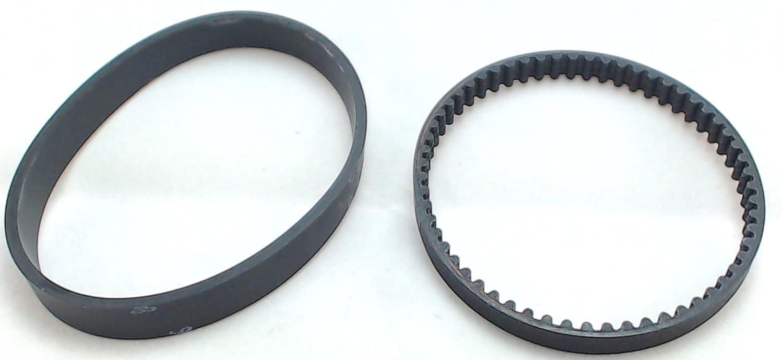 Bissell 9585 Deepclean Essential Cogged & Flat Belt Set Part # 1601542, 1601543