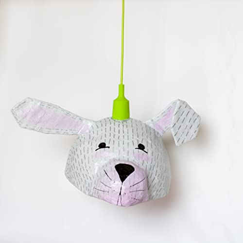 Amazon.com: Bunny Lamp   Kids Lamp   Nursery Lighting   Childrens Lamps   Kids  Room Decor: Handmade
