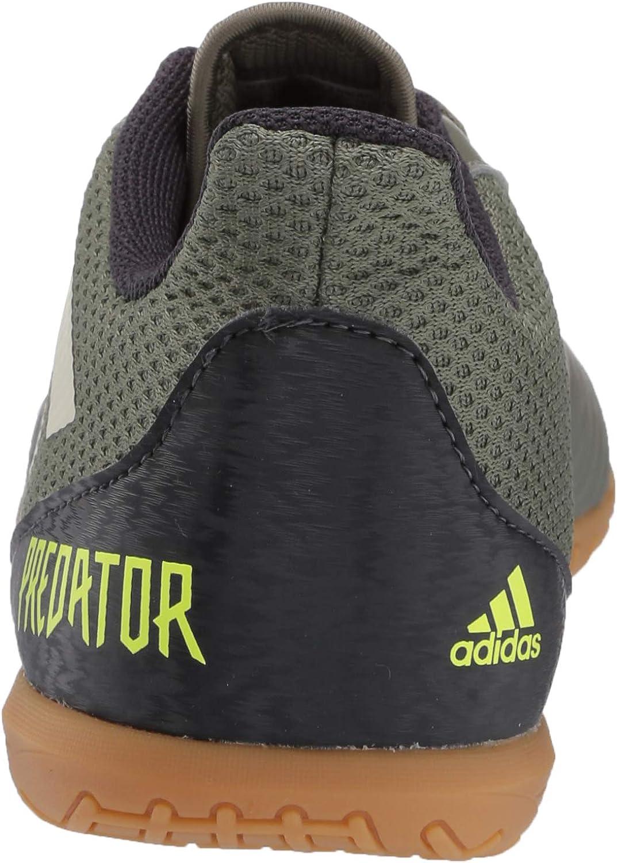 adidas Men's Predator 19.4 in Sala Football Shoe Legacy Green/ Sand/ Solar Yellow