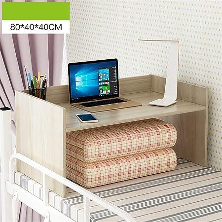 Exing Mesa de computadora, Escritorio de la Cama Dormitorio Simple ...