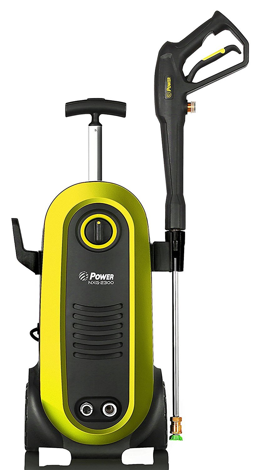 Power Pressure Washer 2300 PSI Electric | Brushless Induction Technology | The Next Generation of Pressure Washer | 3X More Lifespan | Ultra Low Sound | New Design | Power Efficient (Yellow) by Power Products USA (Image #3)
