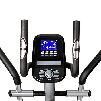 Sportstech CX610 con Smartphone App bicicleta elíptica profesional control + Google Street View, 18 kg inercia, HRC - 32 niveles de resistencia - Bluetooth ...