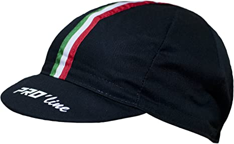 PRO line - Gorra de Ciclismo Proline Tricolor Negro New Line ...