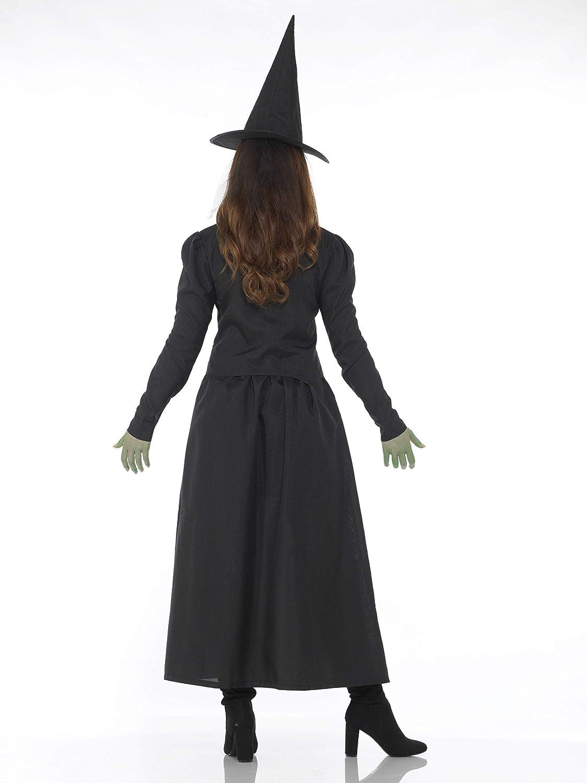 Amazon.com: Wicked – Disfraz de bruja de la mujer Halloween ...