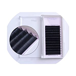 All Size J/B/C/D 0.1 0.12 0.15 mink eyelash extension,fake eyelash extension,individual eyelashes,nature eyelashes,J,0.15mm,10mm