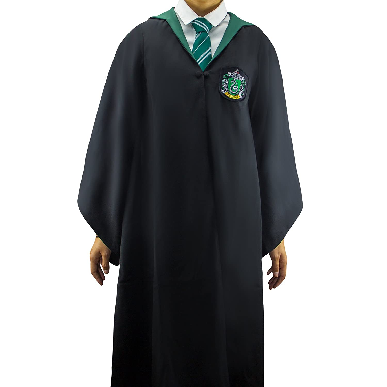 Amazon.com  Harry Potter Robe - Authentic Official Tailored Wizard Robes  Cloak - Adults and Kids Size - Cinereplicas  Clothing b2d3c2a78