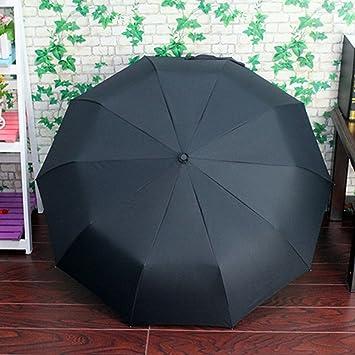 Zantec Paraguas anti-UV impermeable parasoles automático Moda portátil plegable Triple para todo clima