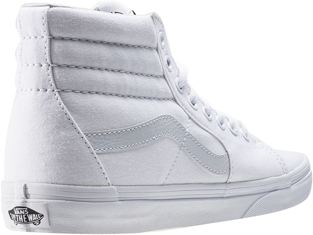 | VANS Sk8-Hi Unisex Casual High-Top Skate Shoes, Comfortable and Durable in Signature Waffle Rubber Sole | Skateboarding