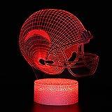 DGLighting NFL Football Team 3D Optical Illusion
