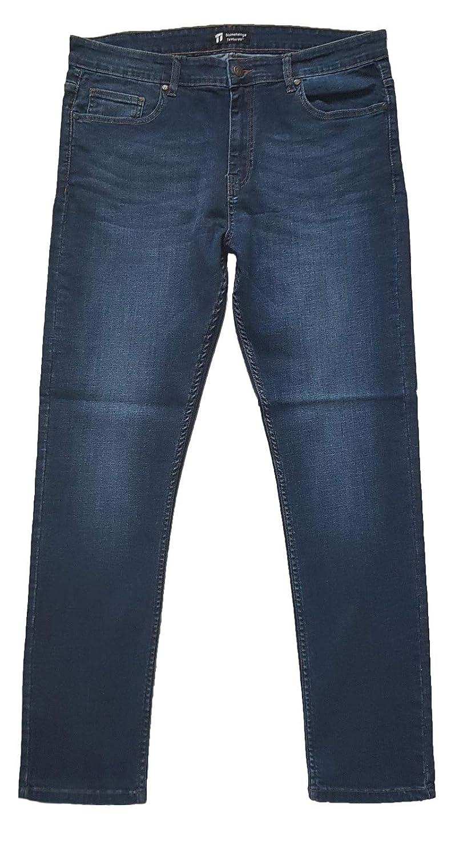 Stonehenge Textures Slim Fit Jeans, Pantalones de Mezclilla Ajustados súper cómodos y Modernos para Hombres