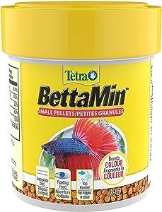 Tetra 77019 Betta Floating Mini Pellets for Bettas, 1.02 oz